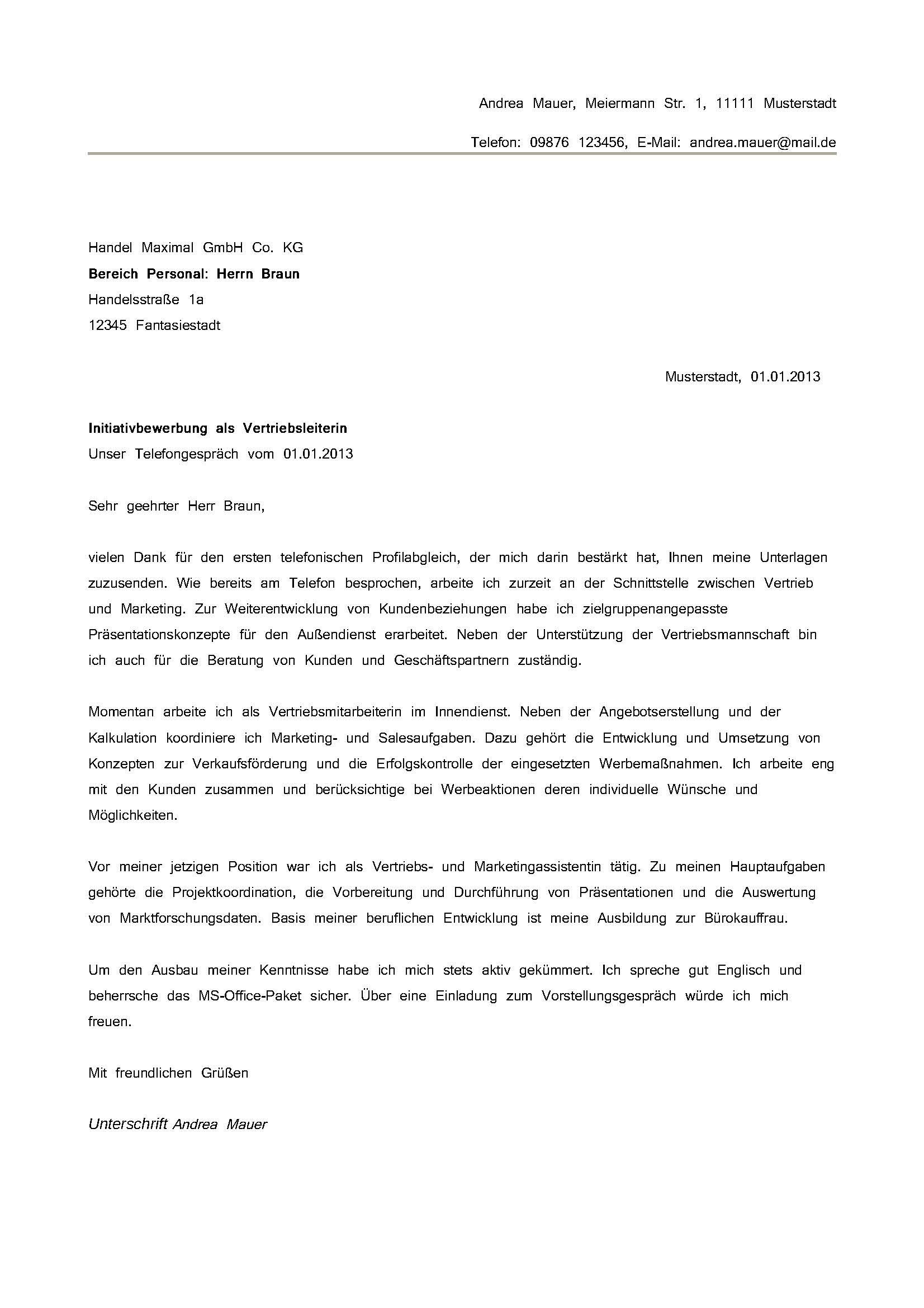 Bewerbungsschreiben Musterbewerbungsvorlagen Für Bewerbung